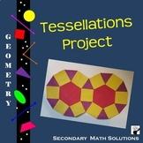 Tessellations Project (Geometry End of Year)