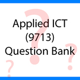 Applied ICT - CIE - 9713 Question Bank