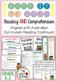 Bump it Up Wall *Reading AND Comprehension Bundle* Austral