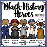 Black History Month Activities Printable Readers with Writing Activities