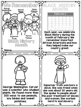 Amazing image throughout black history month printable activities