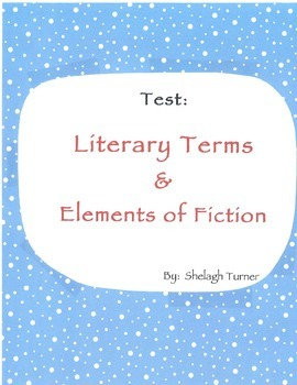 Test: 50 Literary Terms & Elements of Fiction