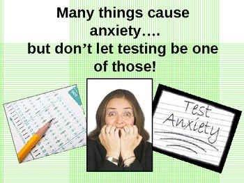 Test Anxiety!