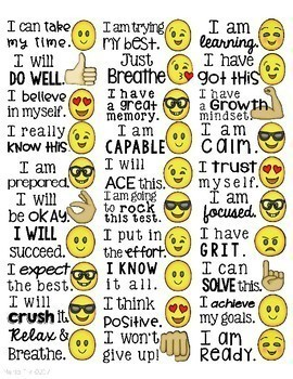 Growth Mindset Affirmation Stickers