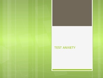Test Anxiety PowerPoint