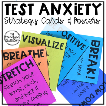 Test Anxiety Resource: Tests Are Not Scary!