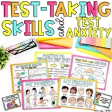 Test-Taking Skills, Test Anxiety Digital Printable English