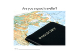 Test: Are you a good traveller? (a not-so-classic test)