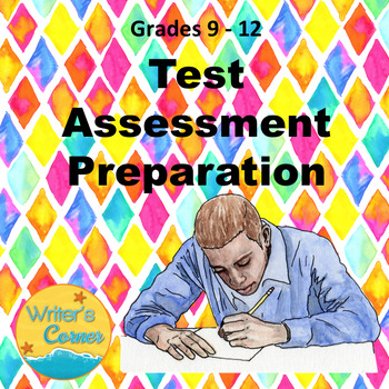 Test Assessment, Cloze Reading, Compare/Contrast Essay, Rubrics, Sub Plan