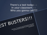 TestBusters! Test Taking Tips & Study Skill Strategies PowerPoint-READY TO TEACH