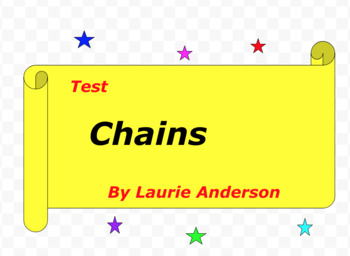 Test:  Chains  by Laurie Anderson
