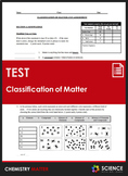 Unit Test - Classification of Matter