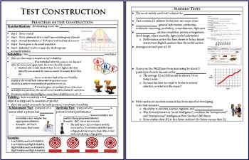 Test Construction PowerPoint