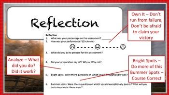 Test Correction & Study Tool - Growth Mindset Product