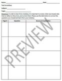 Test Corrections (Editable)