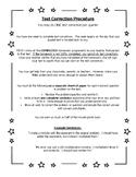 Test Corrections Procedure Math