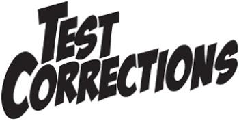 Test Corrections handout