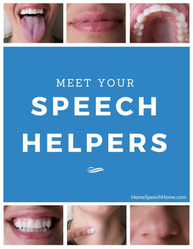 Speech Helpers Book