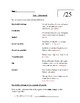 Ontario Grade 6 Science: Electricity Test (en Francais)