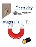 Test:  Electricity and Magnetism