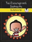 Test Encouragement Bookmarks