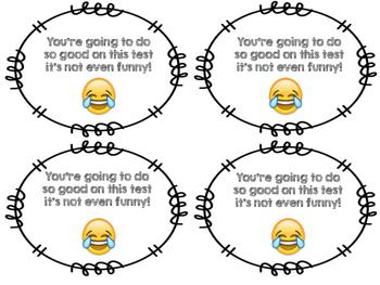 Test Encouragement Emoji