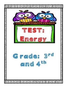 Test:  Energy