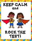Test Empowerment Posters - Superhero Theme