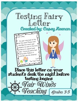 Test Fairy Letter