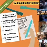 Test - First 6 stories (MovieTalk-based stories) of Spanish 2