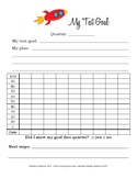 Test Goal Setting Sheet and Data Tracker