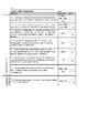 Test Grading & Feedback by Standard -- Benchmark Advance, Grade 5, Unit 1