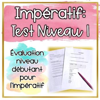 Test: Impératif Niveau 1