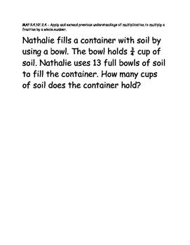 Test Item Spec Questions - MAFS.NF.2.4