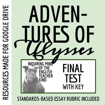 test key adventures of ulysses by evslin tpt rh teacherspayteachers com The Adventures of Ulysses Movie The Adventures of Ulysses Characters