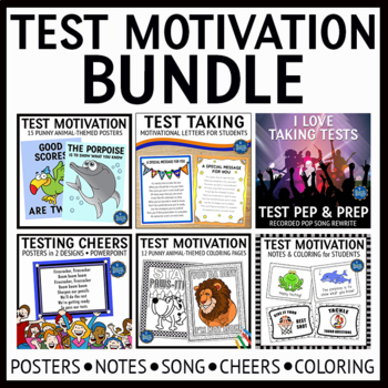 Test Motivation Classroom Bundle
