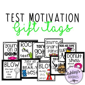 Test Motivation Gift Tags