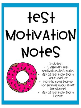 Test Motivation Notes