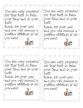 Test Motivation Poems