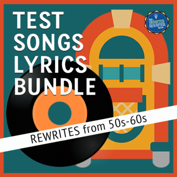 Testing Song Lyrics Bundle 50s to 60s
