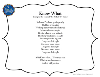 Testing Song Lyrics for Know What