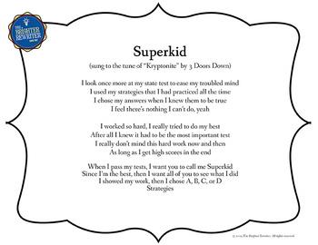Testing Song Lyrics for Kryptonite