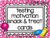 Testing Motivation Treat and Snack Notes