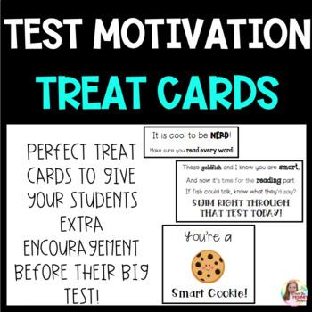 Test Motivator Goodie Cards
