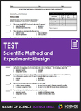 Unit Test - Scientific Method, Graphing and Experimental Design
