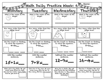 Math Daily Practice