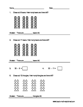 Test Papers | Addition, Subtraction