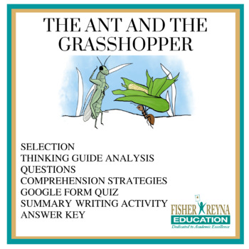 the ant and the grasshopper fable summary