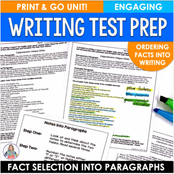 Test Prep Activity Fact Selection in Writing