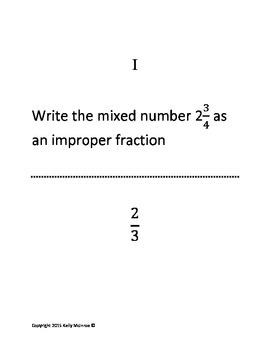 5th Grade Math Scavenger Hunt